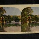 ORIGINAL STEREOVIEW ANTIQUE CARD ART: PALM GARDEN, FRANKFORT, GERMANY, EUROPE