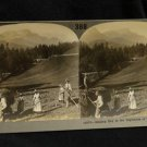ORIGINAL STEREOVIEW ANTIQUE CARD ART: HAY, HIGHLANDS OF BAVARIA, GERMANY PHOTO
