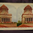 ORIGINAL STEREOVIEW ANTIQUE CARD ART: TOMB OF GENERAL GRANT, NEW YORK CITY
