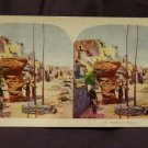 ORIGINAL STEREOVIEW ANTIQUE CARD ART: ROYAL SERIES: &quot;SCENE IN MEXICO&quot;