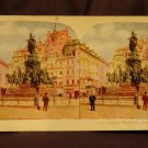 ORIGINAL STEREOVIEW ANTIQUE CARD ART: ROYAL SERIES: &quot;VICTORY MONUMENT, LEIPSIC&quot;
