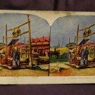 "ORIGINAL STEREOVIEW ANTIQUE CARD ART: ROYAL SERIES ""PUBLIC WELL, PEKIN, CHINA"""
