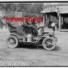STUDIO QUALITY ANTIQUE AUTOMOBILE PHOTO:(8x10):REO -NY-SAN FRANCISCO =1903 RACE+