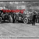 STUDIO QUALITY ANTIQUE AUTOMOBILE PHOTO:(8x10):REO -NY-SAN FRANCISCO 1903 RACE+