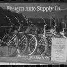 *NEW* VINTAGE ANTIQUE BICYCLE PHOTO: BRAWLEY, CALIFORNIA, CYCLE DEALERSHIP