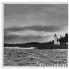 New [8x10] Antique Lighthouse Photo: Tree Point Light Station, Alaska Coast