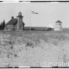 New [8x10] Antique Lighthouse Photo: S.S. Manitou Passing Point, Harbor Point,MI