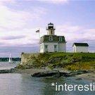 New [8x10] Antique Lighthouse Photo: Rose Island Light, Newport, Rhode Island-2