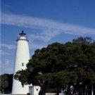 New [8x10] Antique Lighthouse Photo: Ocracoke Light, Ocracoke Island, NC