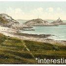 New [8x10] Antique Lighthouse Photo: Mumbles Head, Mumbles, Wales, UK