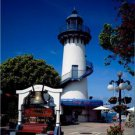 New [8x10] Antique Lighthouse Photo: Marina Del Rey Harbor, CA- Concession Stand