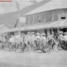 Antique Photo Reproduction:8.5x11: Waratah Rovers Bicycle Club Syndey in 1900