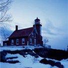 New [8x10] Antique Lighthouse Photo: Eagle Harbor Lighthouse, Michigan