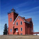 New [8x10] Antique Lighthouse Photo: Light House: Agate Bay, Two Harbors, Minn