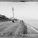 New [8x10] Antique Lighthouse Photo: Gratiot Light House, Port Huron, Michigan