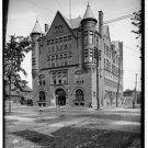 New [8x10] Antique Masonic/Mason Photo: Masonic Temple, Saginaw, Michigan