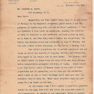 Antique:1905 Letter: King Pine Land and Lumber about Durango Mexico Pine Forest