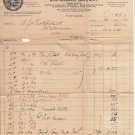 Antique:1907 Receipt-Lake St. Bridge Chicago: Kelley, Maus and Company
