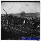 New [8x10] Antique Accident Photograph: C H & D Wreck, Cincinnati, Hamilton,Ohio