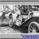 New [8x10] Antique Buick Photograph: Fixing Tire on Buick Roadster,Upstate NY