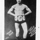 """New [8x10] Antique Wrestler Photograph: """"Peter Gotz"""" Lightweight Wrestler World"""