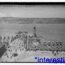 New [8x10] Antique Submarine Photograph: Submarines New York Harbor, 1915