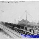 New [8x10] Antique Submarine Photograph: Submarine Sub Co. Yard, Newark NJ 1903