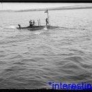 "New [8x10] Antique Submarine Photograph:""Adder"" Submarine, Riding Low, Flag"
