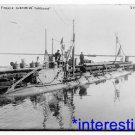 "New [8x10] Antique Submarine Photograph:French Submarine ""Korrigan"" in 1915"