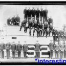 "New [8x10] Antique Submarine Photo: Submarine and Crew of ""S-2"" Sub"