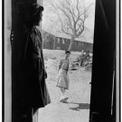 *New* Antique Japan,Japanese Photo[8x10] Manzanar,CA Relocation, Girl with Geta
