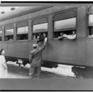 *NEW* Antique Japan/Japanese Photo[8x10] Leaving Los Angeles after Pearl Harbor