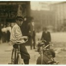 *NEW* VINTAGE ANTIQUE BICYCLE PHOTO: CYCLE BOYS RELAXING, MONTGOMERY, ALABAMA