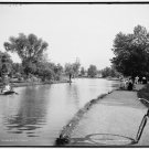 *NEW* VINTAGE ANTIQUE BICYCLE PHOTO: THE LAKE, WADE PARK, CLEVELAND, OHIO