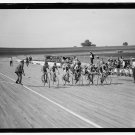 *NEW* VINTAGE ANTIQUE BICYCLE PHOTO: LAUREL MARYLAND BICYCLE RACES, DIRT TRACK