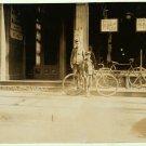 *NEW* VINTAGE ANTIQUE BICYCLE PHOTO: MESSENGER BOYS, NEW HAVEN, CONNECTICUT