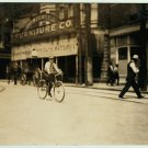 *NEW* VINTAGE ANTIQUE BICYCLE PHOTO: DANVILLE, VIRGINIA CYCLE MESSENGER