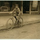 *NEW* VINTAGE ANTIQUE BICYCLE PHOTO: PERCY NELLVILLE, MACKAY TELEGRAPH CO CYCLE