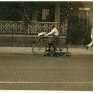 *NEW* VINTAGE ANTIQUE BICYCLE PHOTO: CYCLE MESSENGER BOY: MONTGOMERY ALABAMA