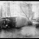 *NEW* Antique Old Wreck Photo[8x10] Washington Rapid Transit Co. Crash, Overturn