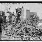 "*NEW* Antique Old Wreck Photo[8x10] 1913, Vestibule of ""Chancellor"" Train car"
