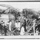 *NEW* Antique Old Wreck Photo[8x10] Soerabaja,Java- House -Japanese Bomb Wreck
