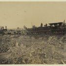 *NEW* Antique Old Wreck Photo[8x10] Civil War Era, Steam Train, Locomotive VA