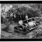 *NEW* Antique Old Wreck Photo[8x10] Klingle Ford Bridge Accident, 1925, Crowd