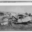 *NEW* Antique Old Wreck Photo[8x10] German Guarding wrecked aeroplane, aircraft