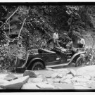 *NEW* Antique Old Wreck Photo[8x10] Auto Accident, Crash, 1923, Stream, Forest