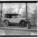 *NEW* Antique Old Wreck Photo[8x10]Unknown Car Accident,Wheel came off, Trees