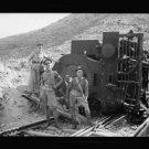 *NEW* Antique Old Wreck Photo[8x10] Engine, Railroad, Deir-Esh-Sheikh, Train