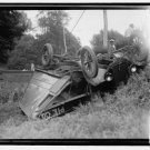 *NEW* Antique Crash,Wreck[8x10] Liberty Pie Company, Truck, Overturned, Auto