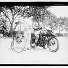 *NEW* Antique,Vintage Motorcycle Photo[8x10] Police, Velocipede, Big Wheel Bike